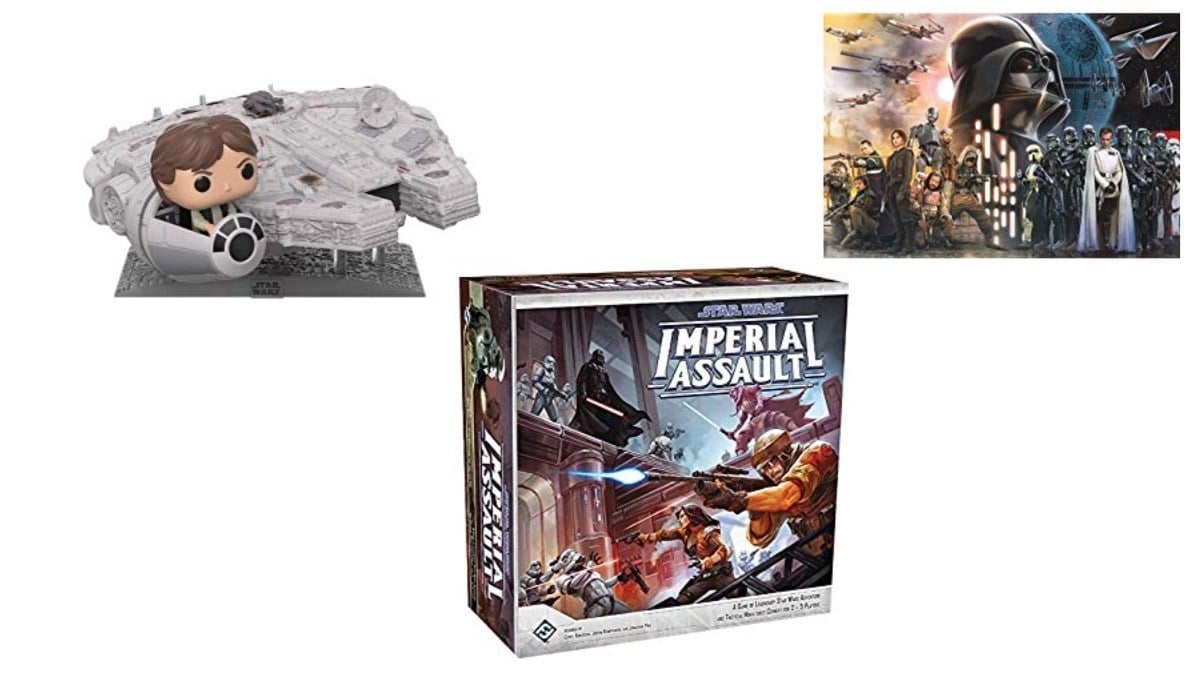 Geek Daily Deals 121819 star wars games and toys