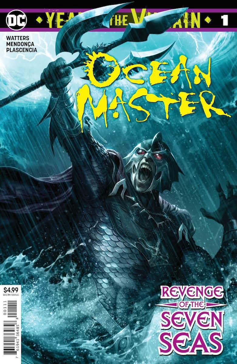 Ocean Master: Villain of the Year #1