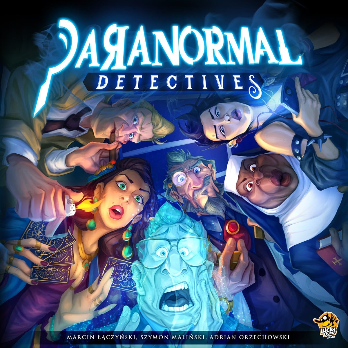 Paranormal Detectives box cover