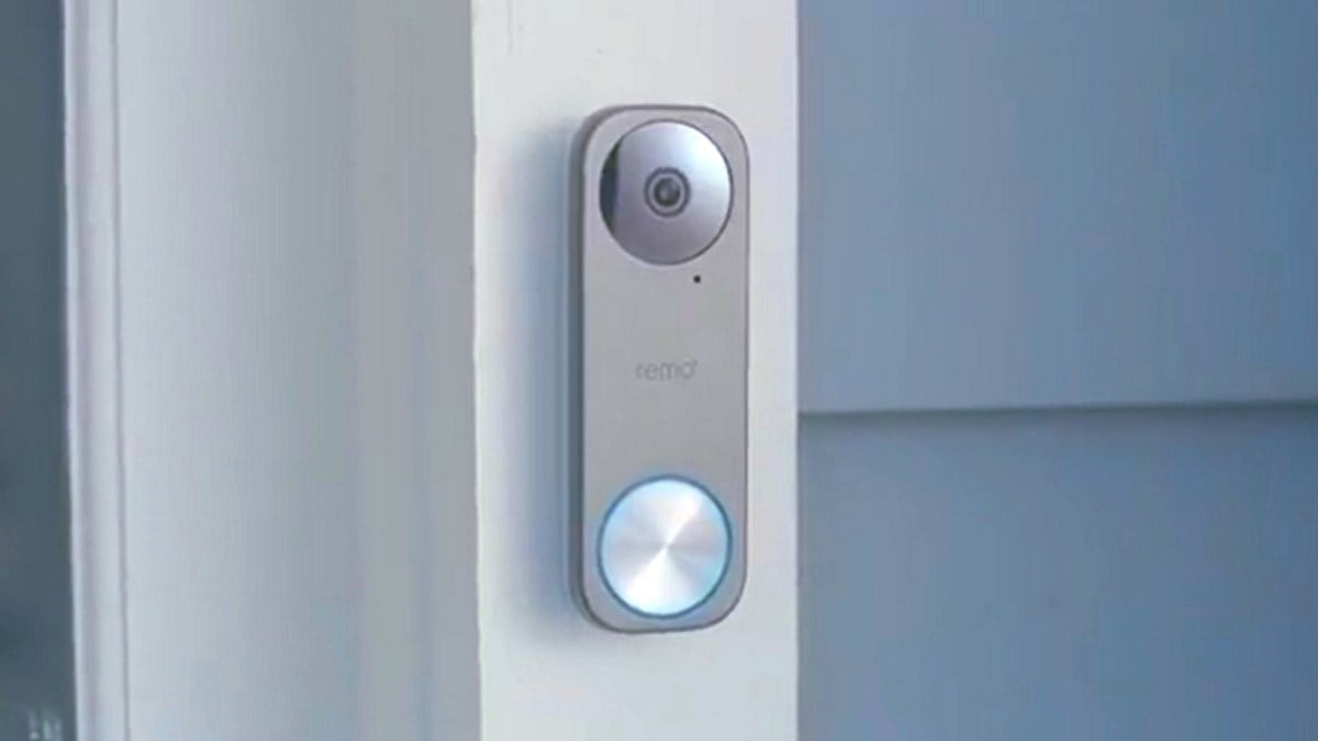RemoBell S Fast Responding Smart Video Doorbell Camera.'