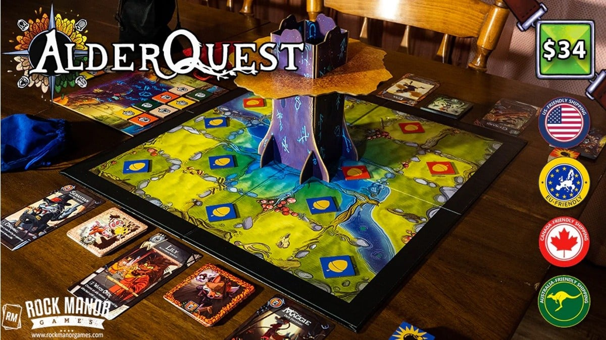 AlderQuest Kickstarter