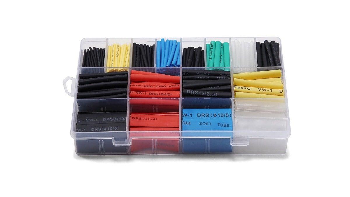 Geek Daily Deals 010720 heat shrink wire wraps