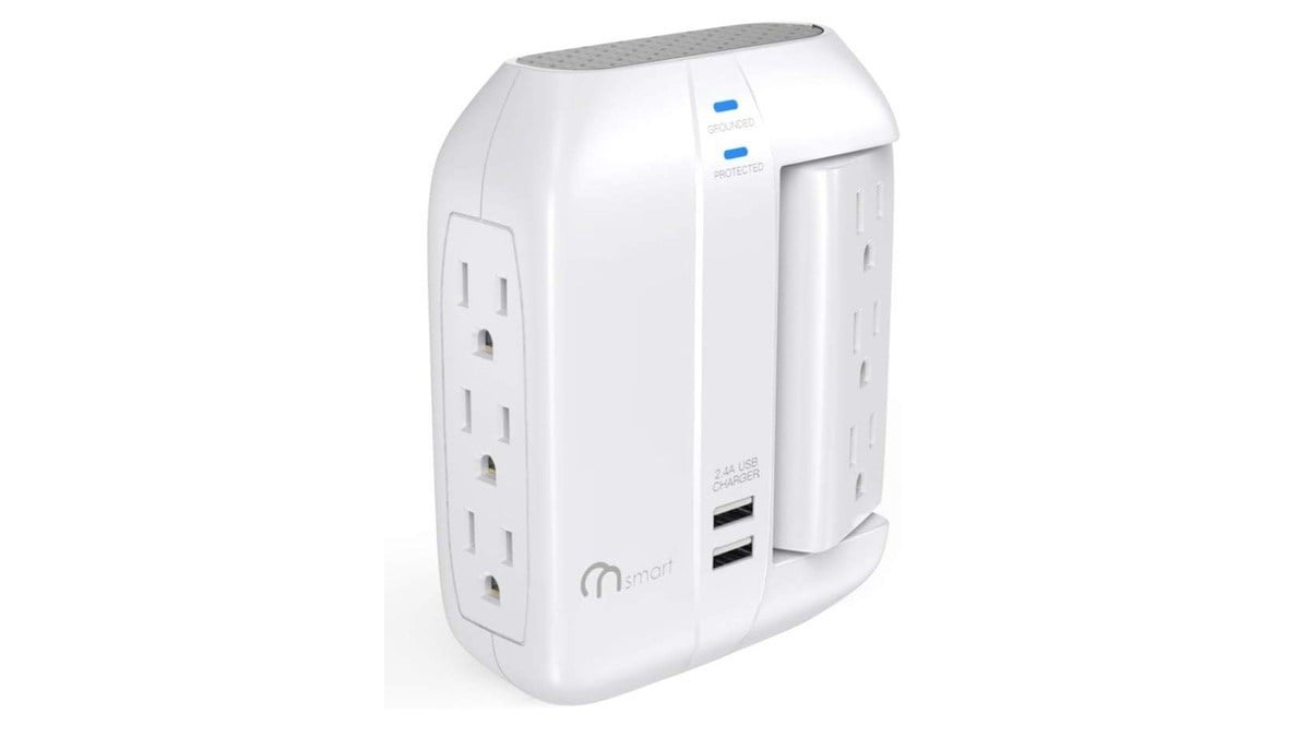 Geek Daily Deals 011820 power strip wall outlet