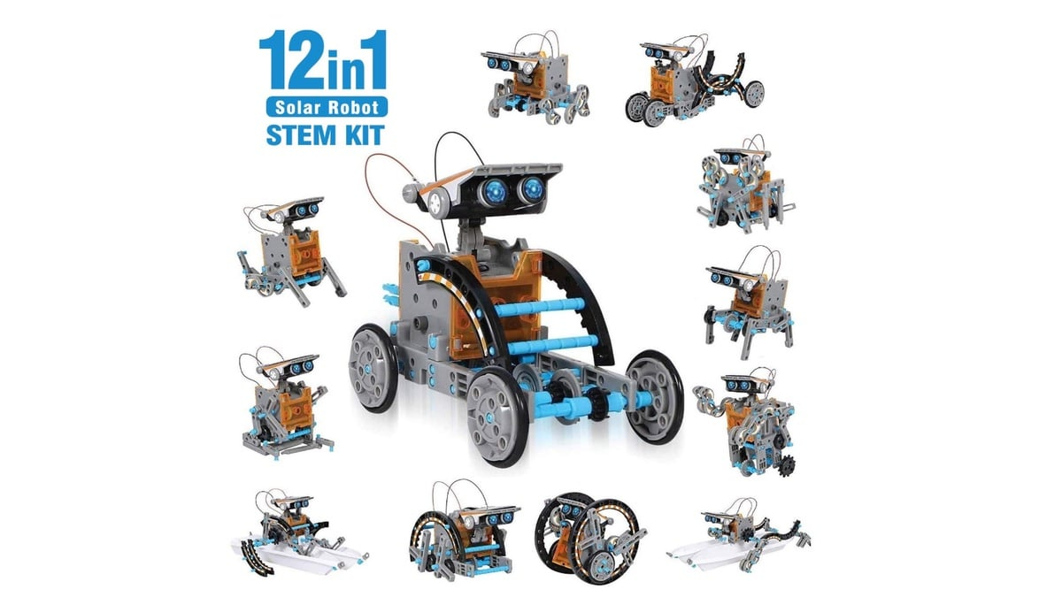 Geek Daily Deals solar robot stem kit