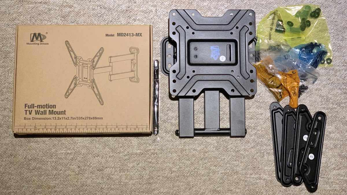 Mounting Dream MD2413-MX Full Motion TV Wall Mount