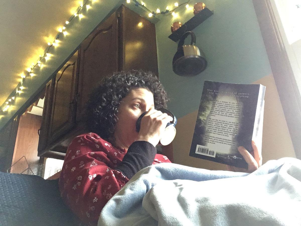 Rebecca Angel reading
