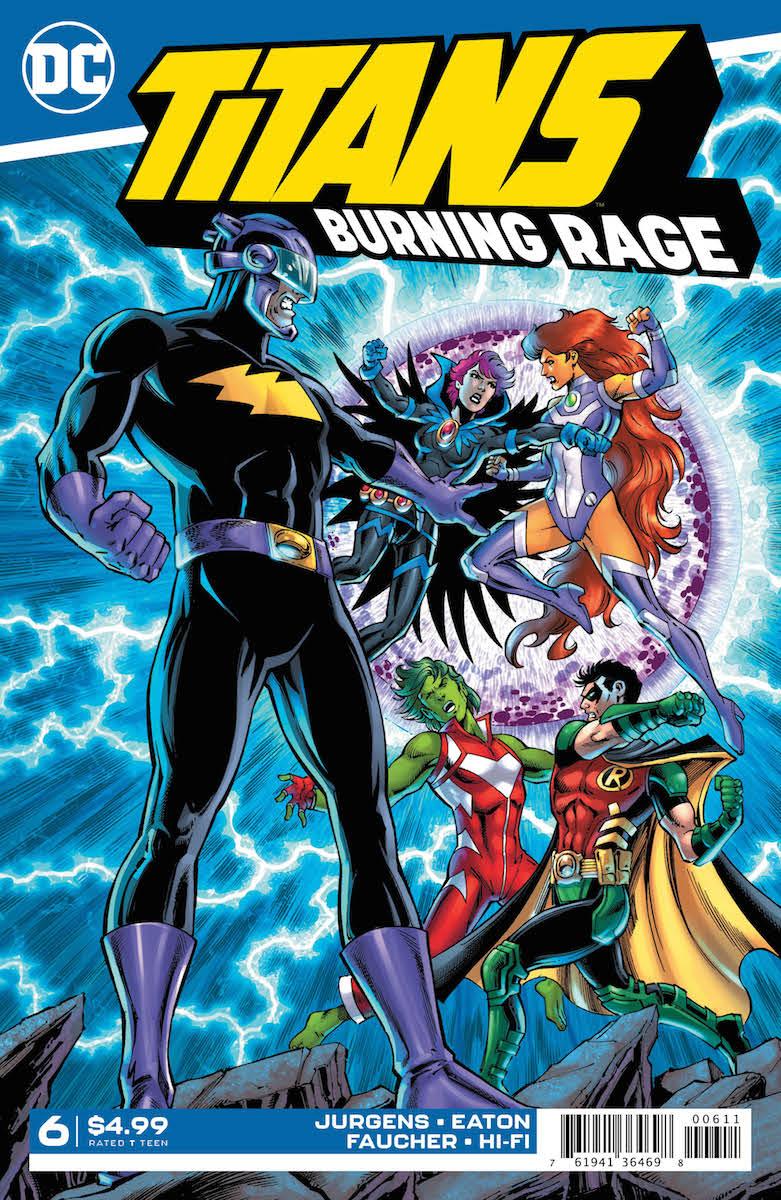 Titans Burning Rage #6