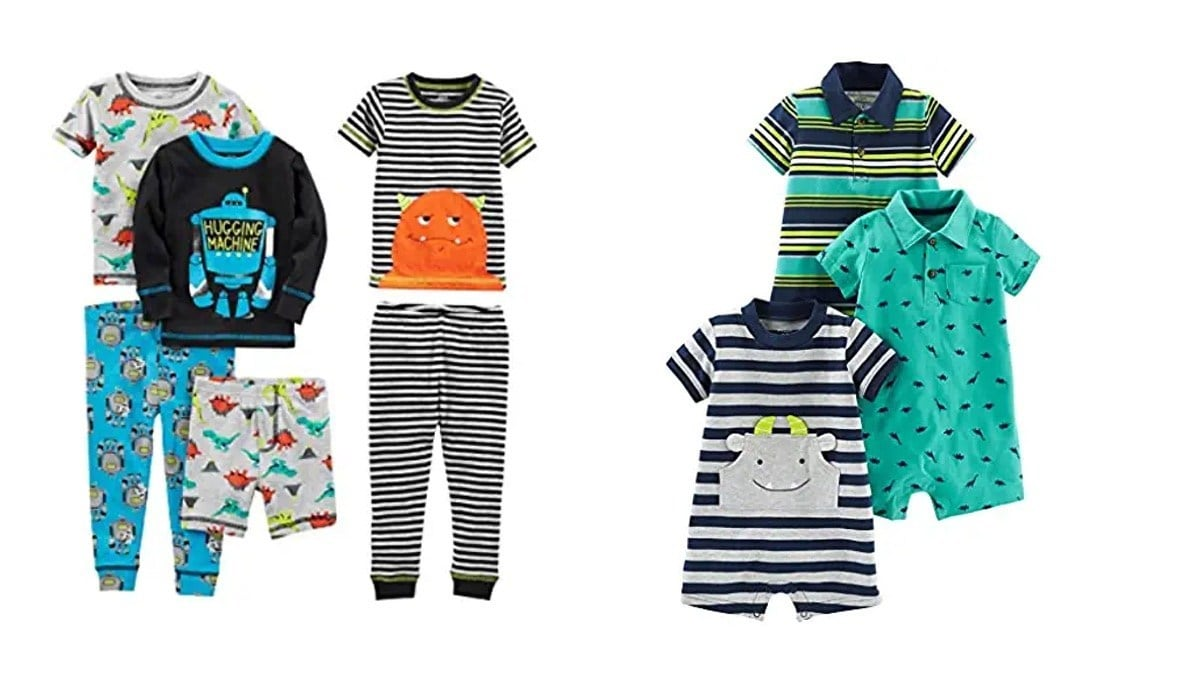 Geek Daily Deals 020520 carters anderson infant toddler clothes