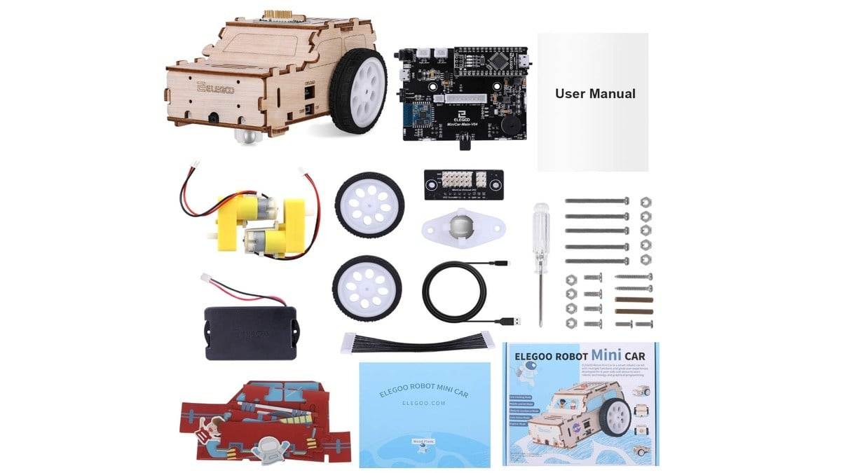 Geek Daily Deals 022520 robotic car kit