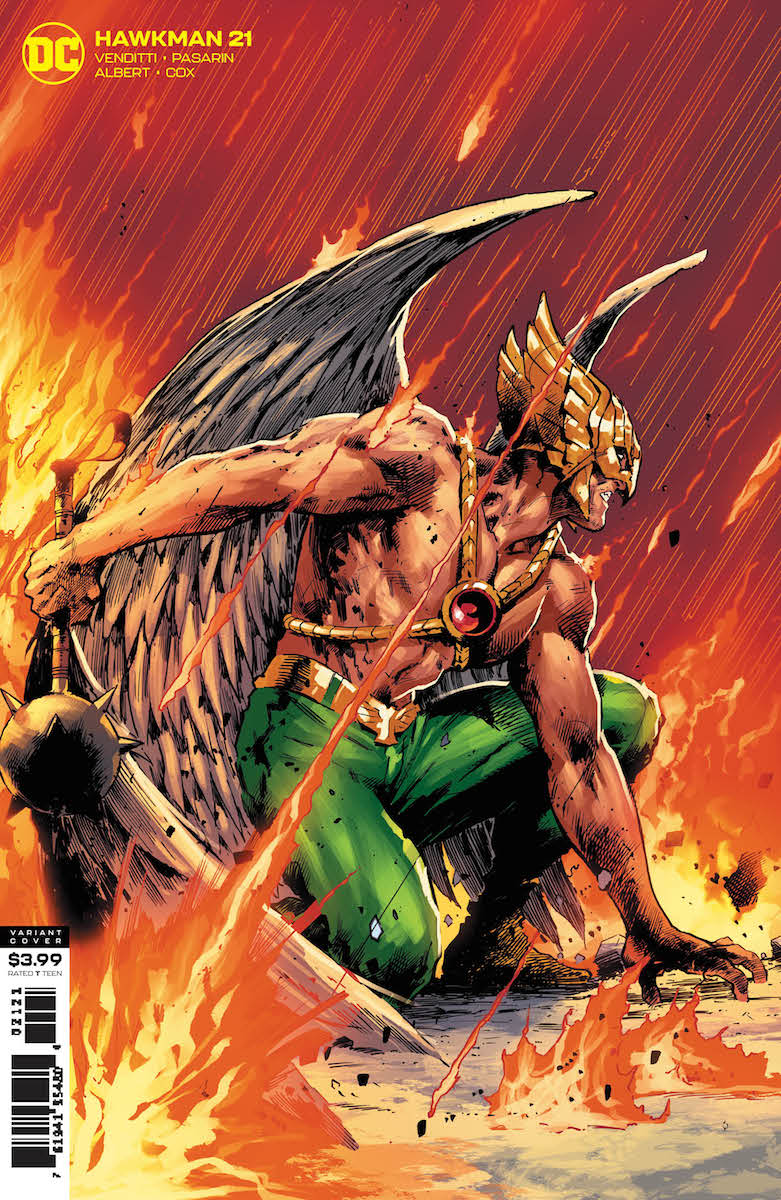Hawkman #21