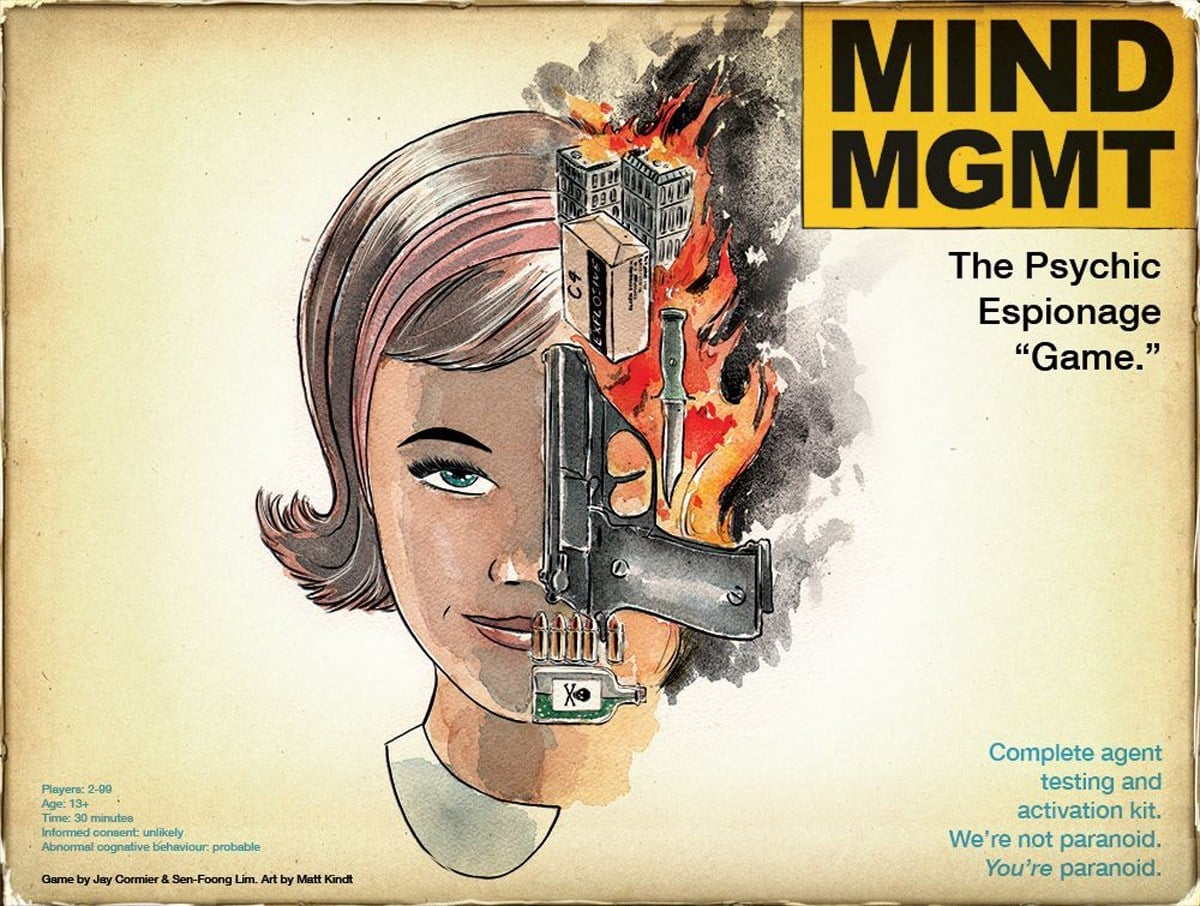 Mind MGMT cover art