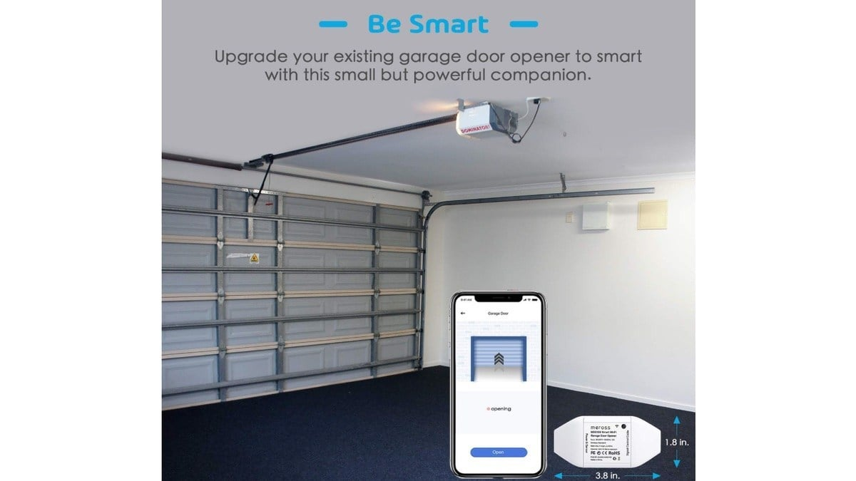 Geek Daily Deals 030120 smart garage door opener