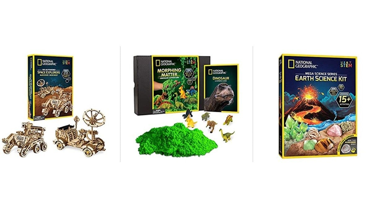 Geek Daily Deals 031520 national geographic stem kits