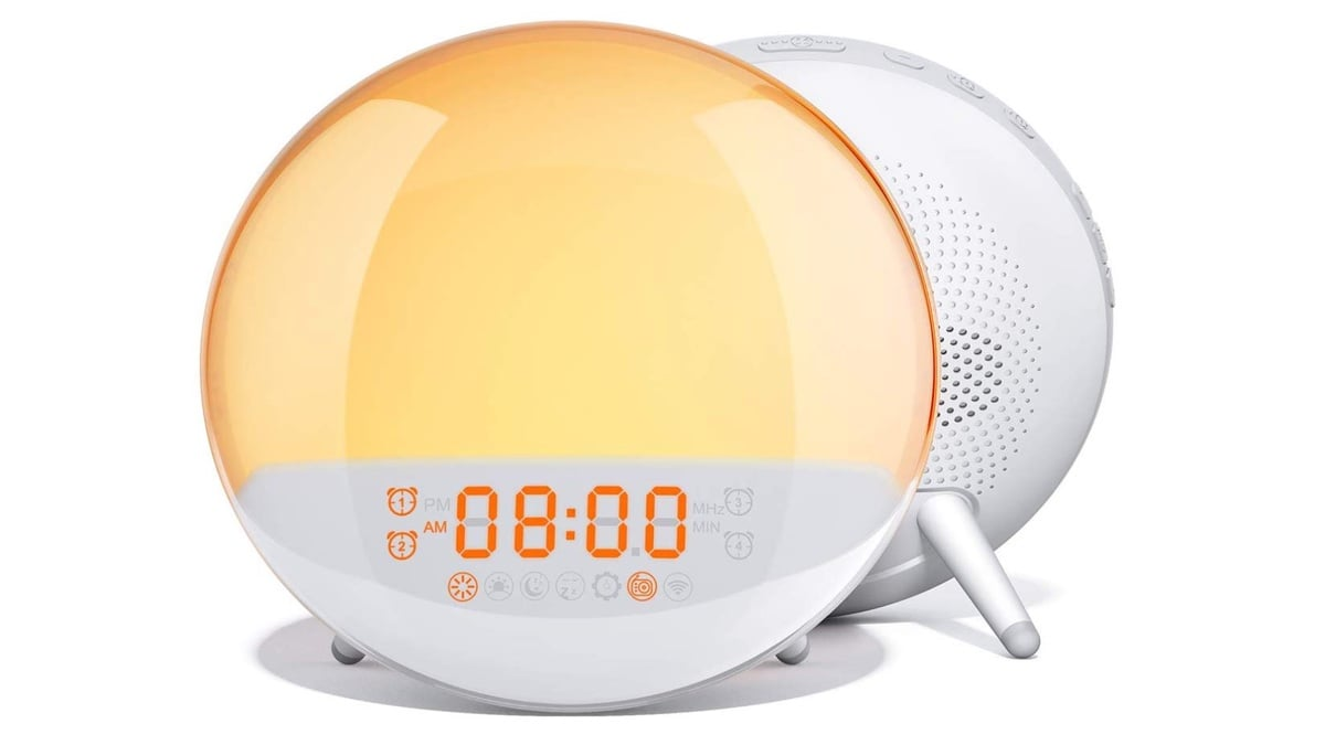 Geek Daily Deals 031720 sunrise wake up alarm clock