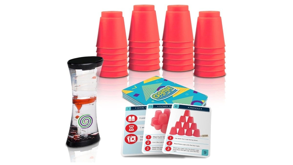 Geek Daily Deals 032120 cup stacking game