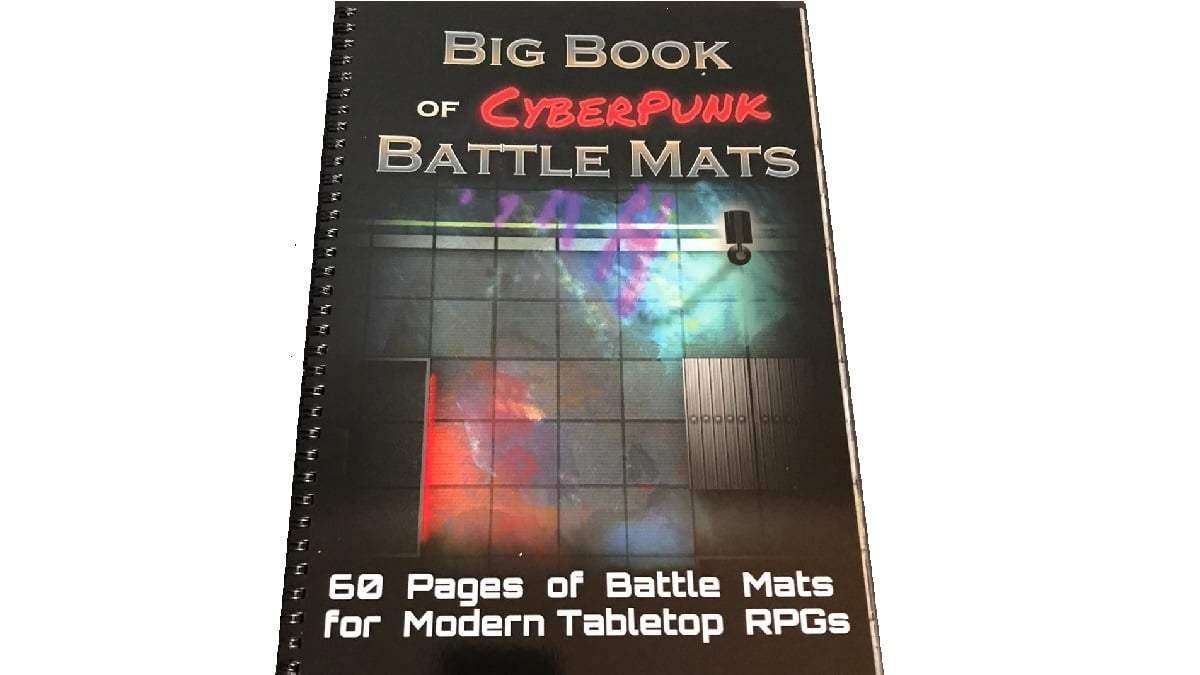 cyberpunk battle mats