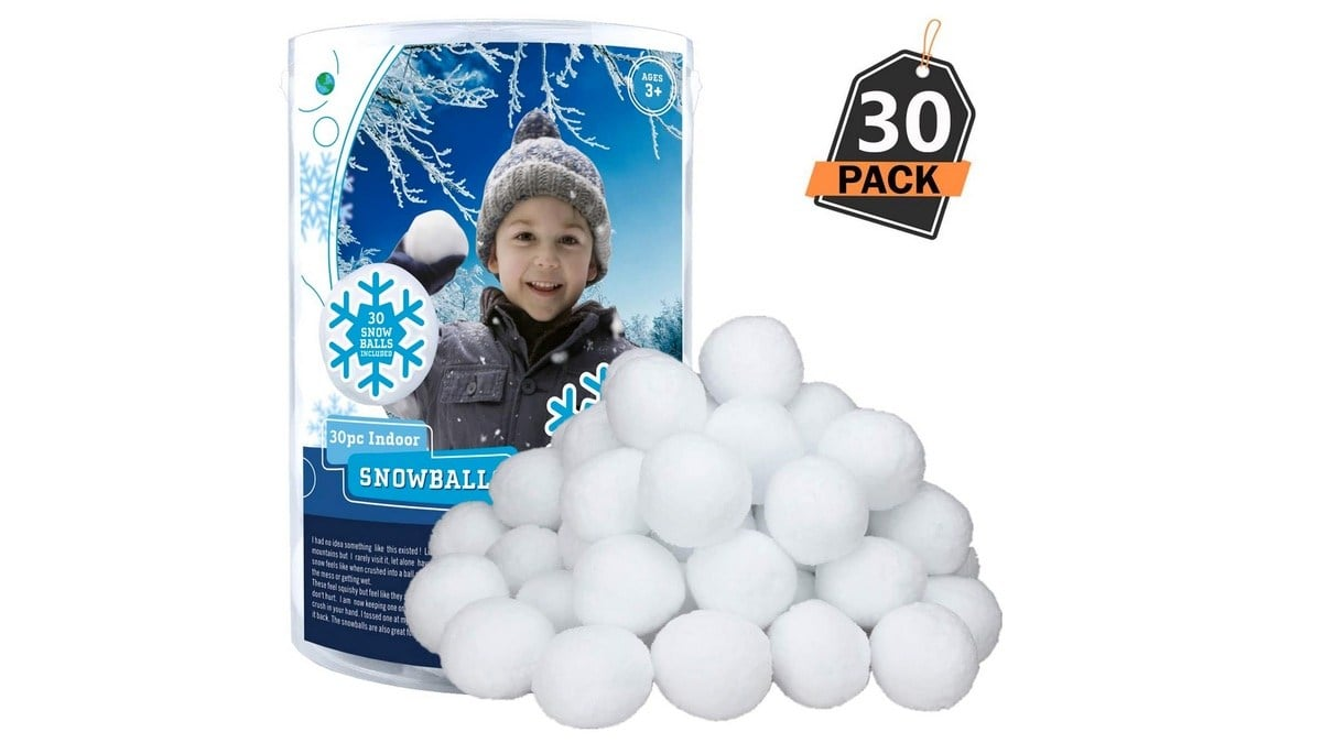 Geek Daily Deals 040320 indoor snowballs