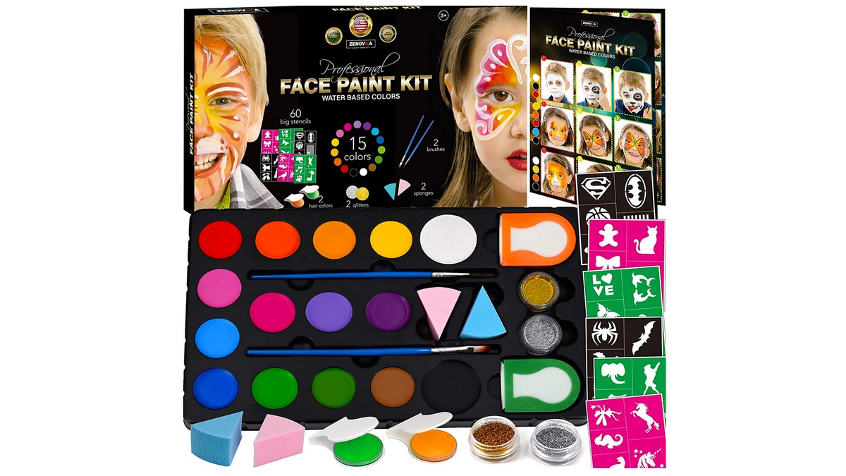 Geek Daily Deals 042620 face painting kit
