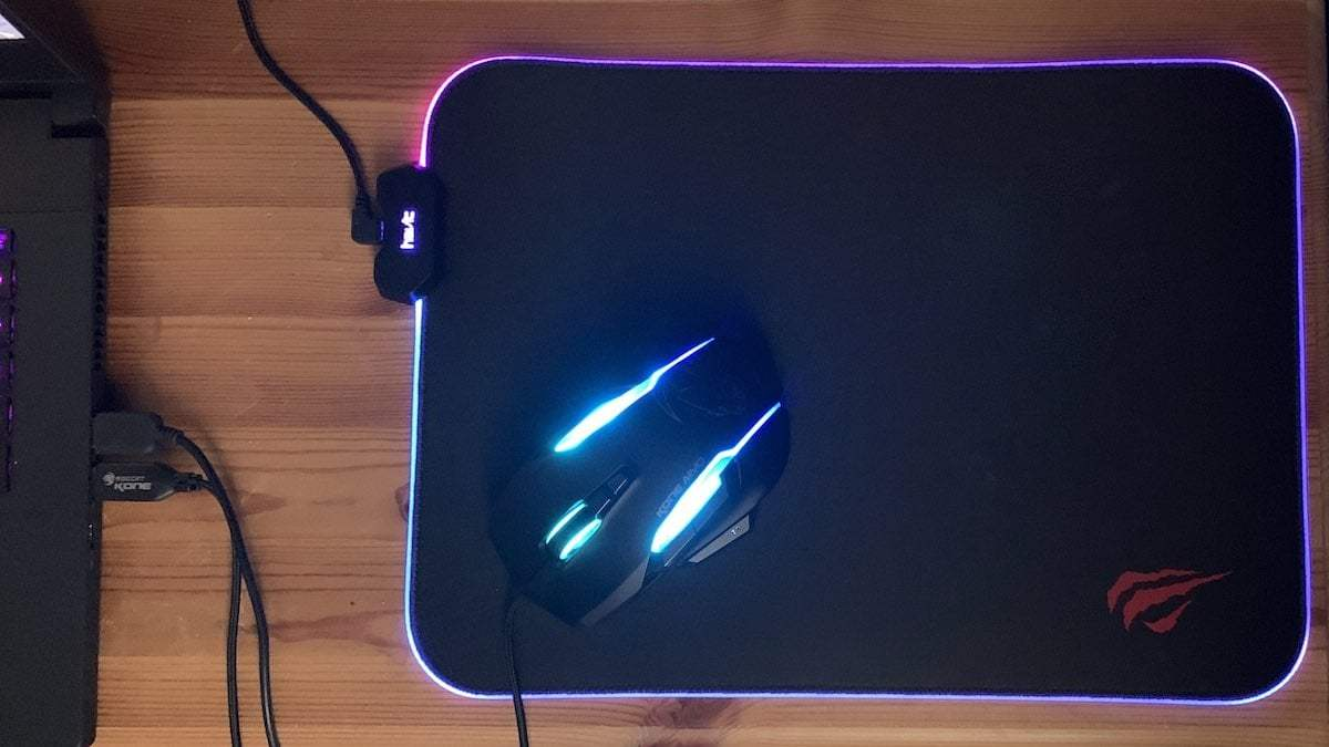 Havit RGB gaming mousepad review