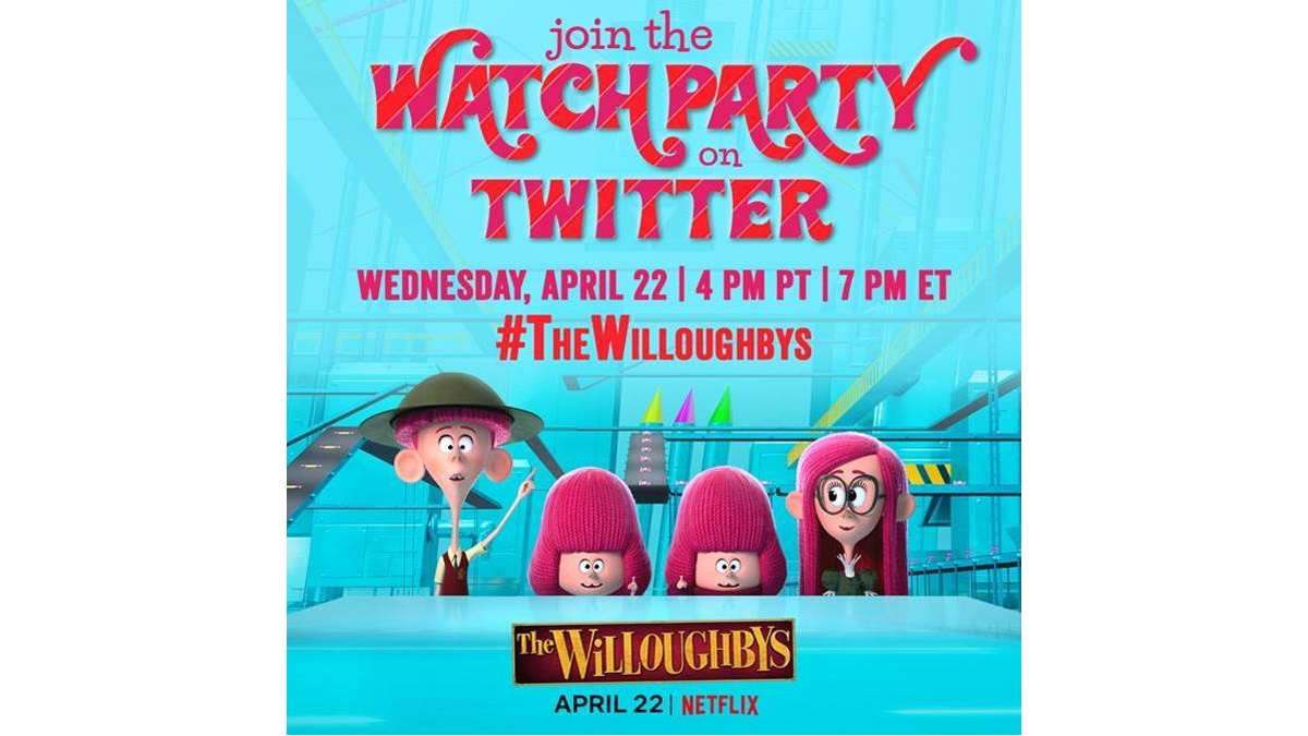 The Willoughbys Watch Party