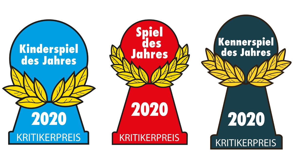 2020 Spiel des Jahres logos