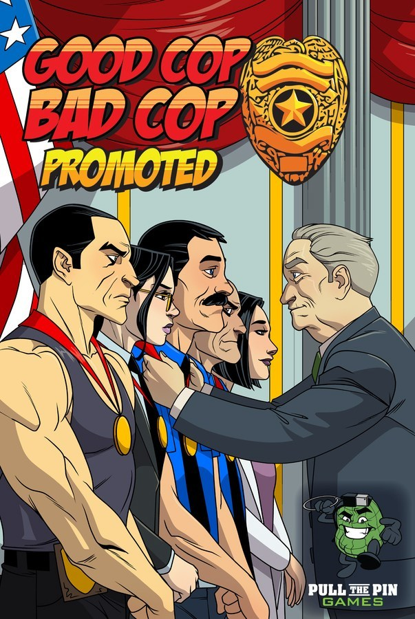 Good Cop Bad Cop: Promoted cover