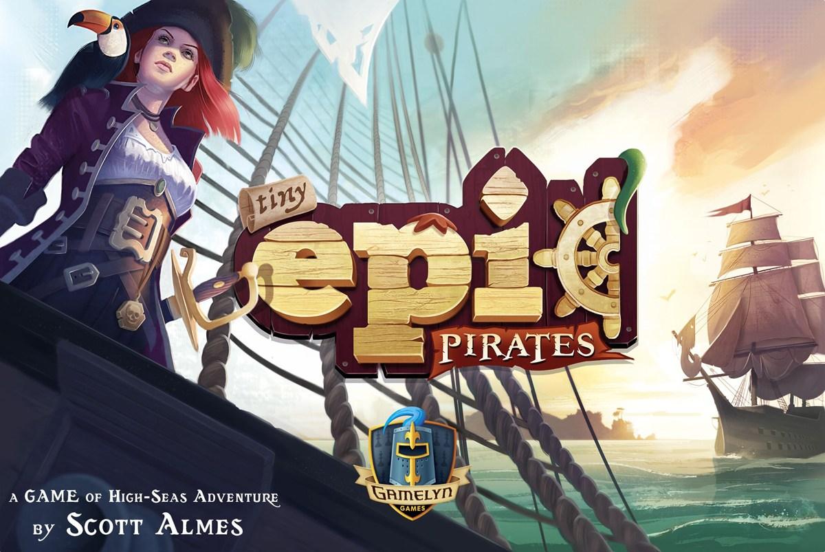 Tiny Epic Pirates box cover