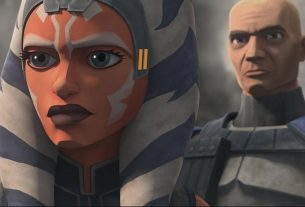 Ahsoka and Rex in STAR WARS: THE CLONE WARS, exclusively on Disney+.