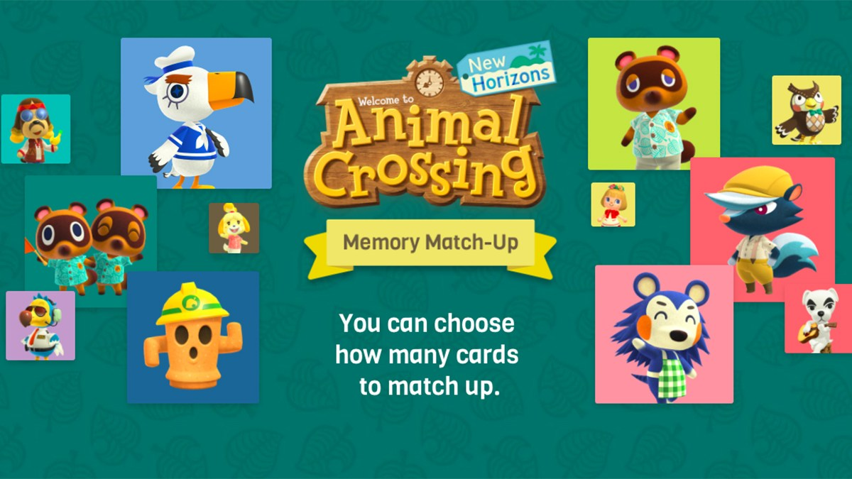 animal crossing match