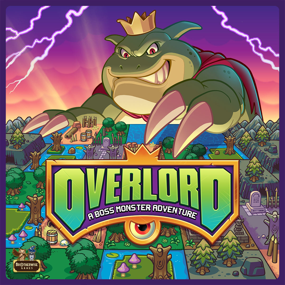 Overlord box cover