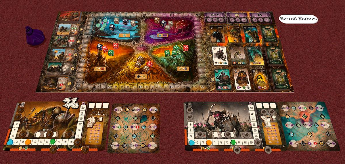 Shadow Kingdoms of Valeria screenshot from Tabletop Simulator