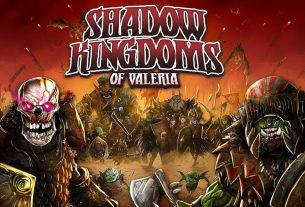 Shadow Kingdoms of Valeria box cover