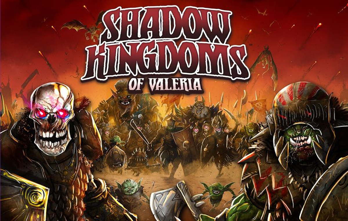 Shadow Kingdoms of Valeria box cover