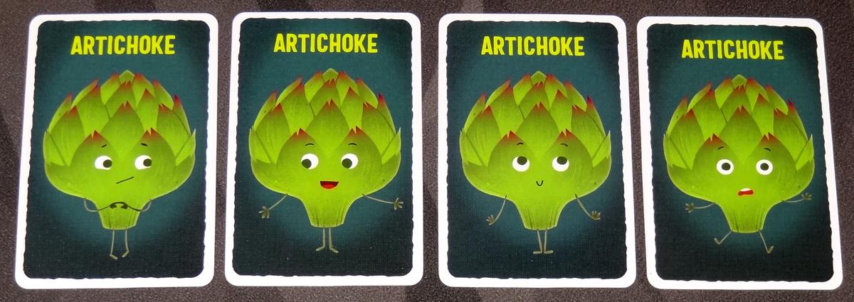 Abandon All Artichokes artichoke cards