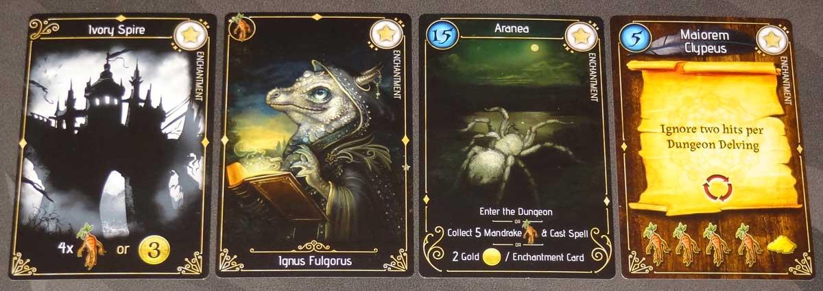 Lizard Wizard Enchantment cards