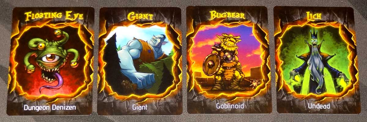 Lizard Wizard Dungeon Cards