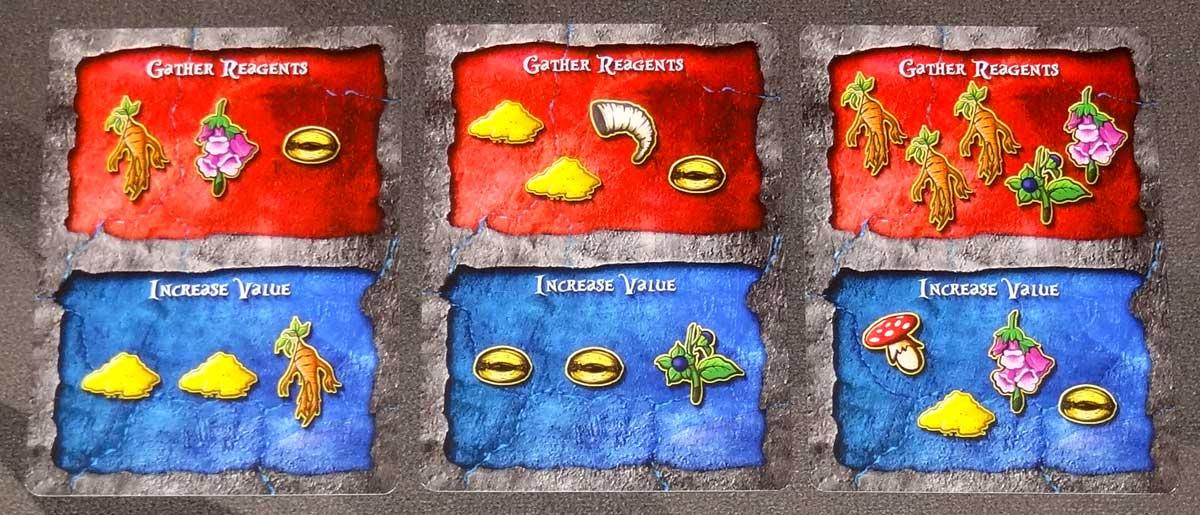 Lizard Wizard reagent cards