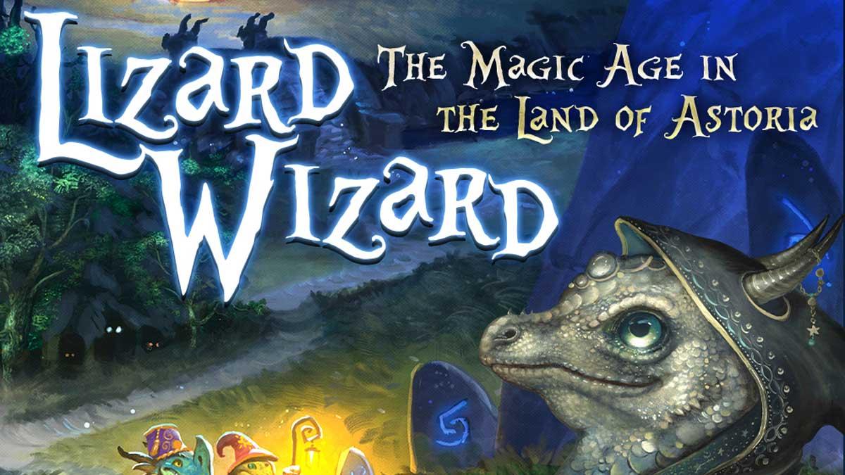 Lizard Wizard banner
