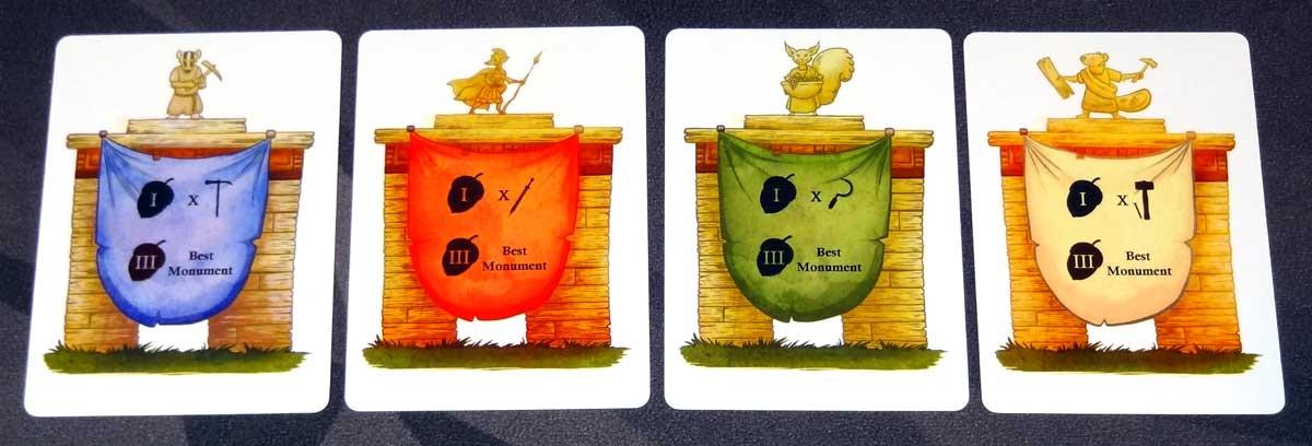 SPQF Monument cards