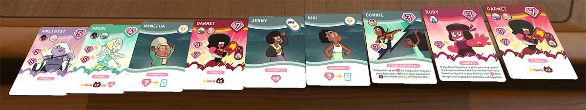 Steven Universe: Beach-a-Palooza hand of cards