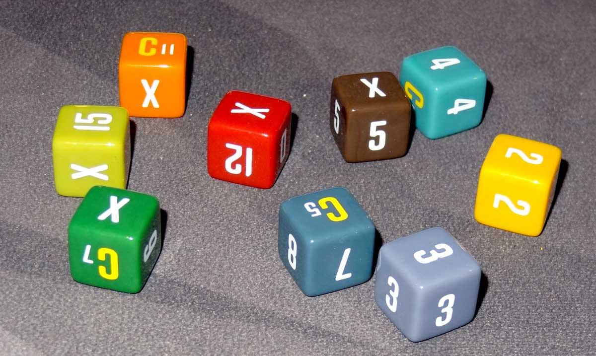 The Alpha dice
