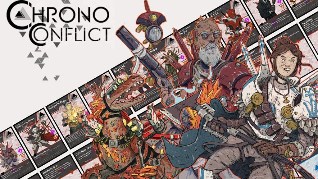 ChronoConflict Kickstarter banner image