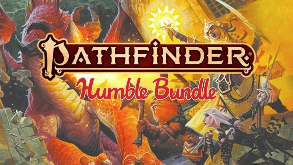 Pathfinder 2E Humble Bundle