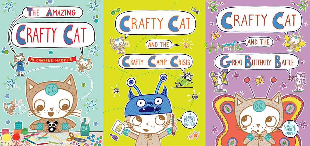 Crafty Cat series covers