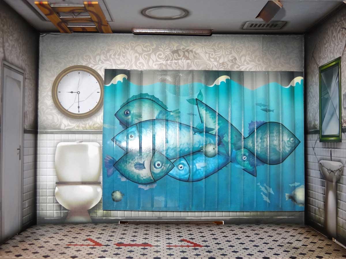 Escape the Room: The Cursed Dollhouse bathroom