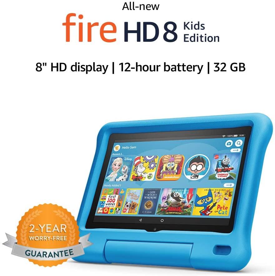 Geek Daily Deals 081020 fire hd 8 tablet kids