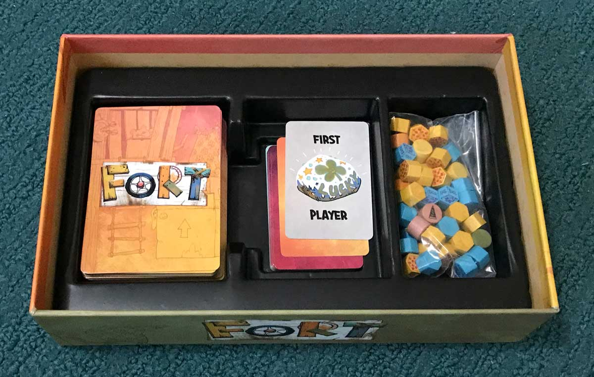Fort box insert