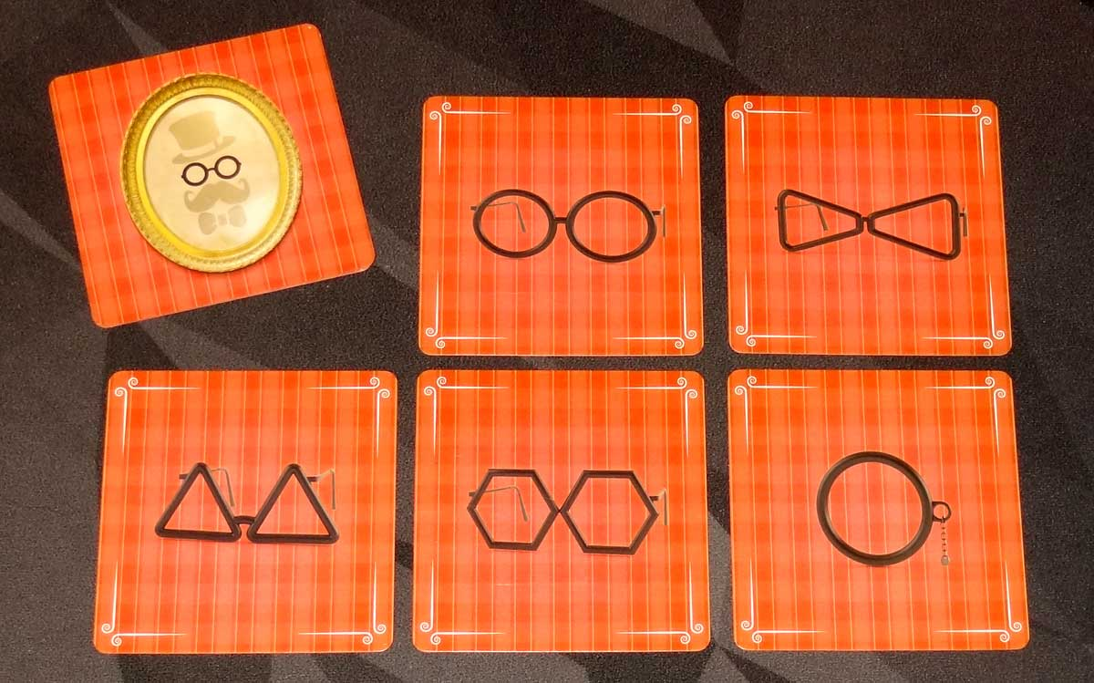 Mia London and the Case of the 625 Scoundrels glasses cards
