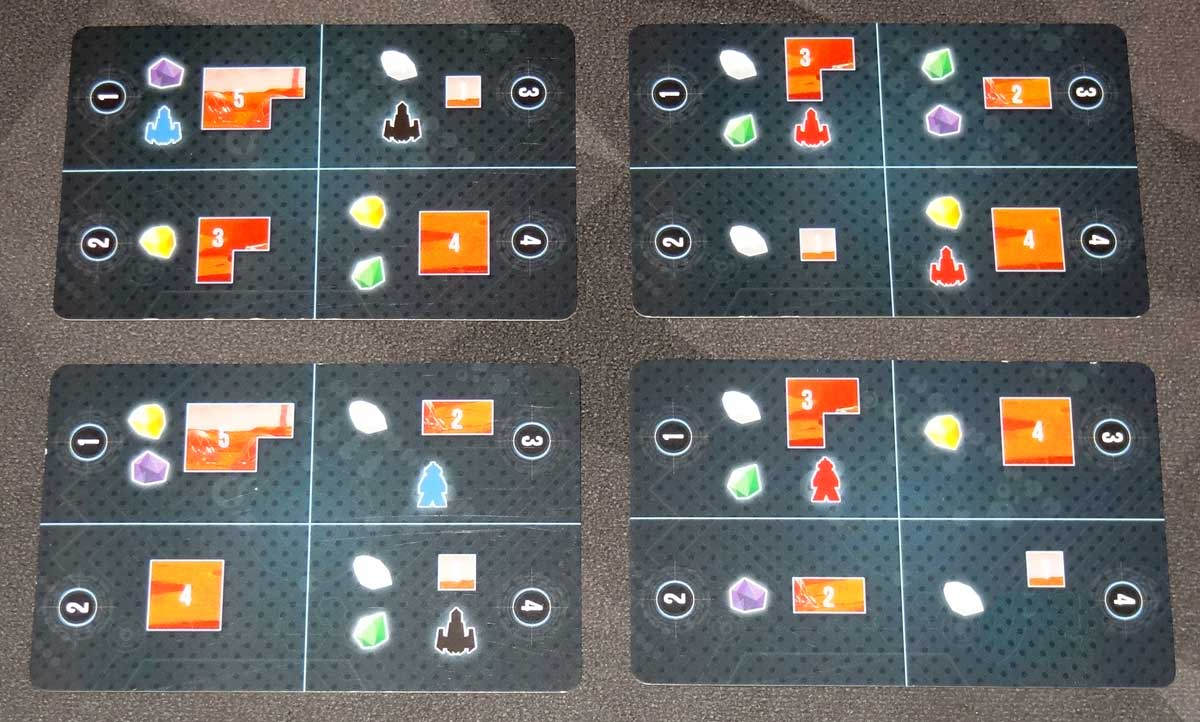 Mining Colony resource cards