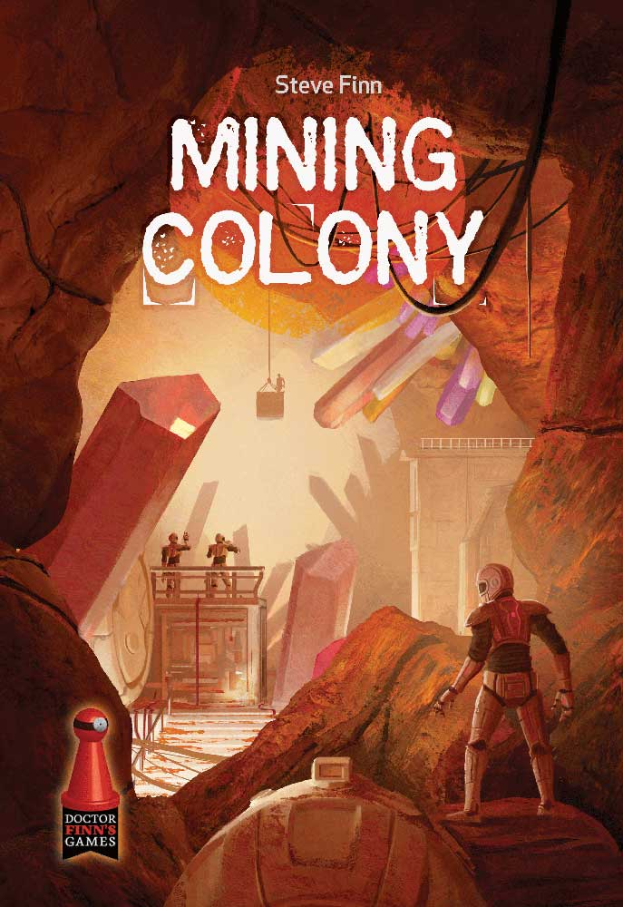 Mining Colony box cover